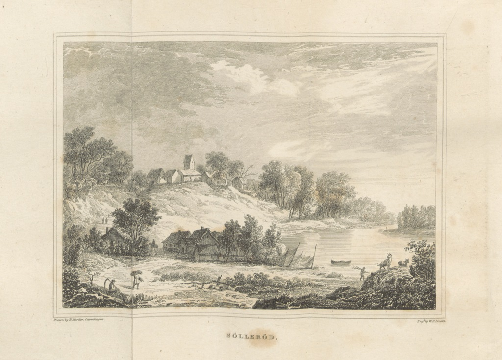 """Zealand from """"Denmark delineated; or, sketches of the present state of that country. Illustrated with ... drawings by eminent Danish artists ... The second edition. (Appendix. An Historical Sketch of Danish Literature.)"""""""