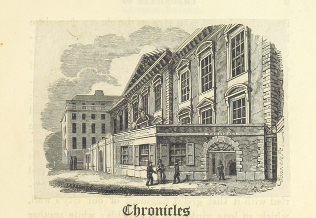 "architecture from ""Chronicles of London Bridge: by an Antiquary [i.e. Richard Thomson]. [With illustrations.]"""