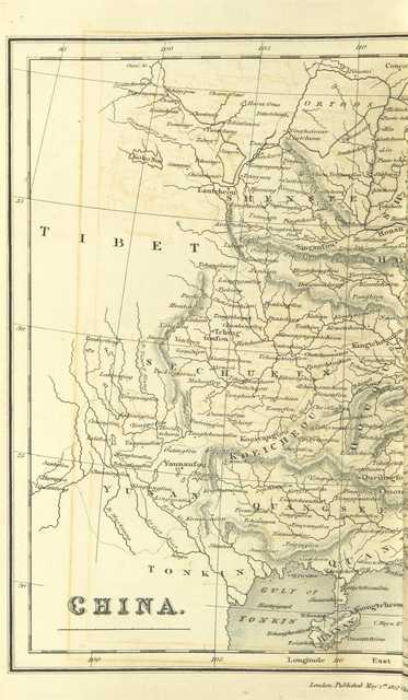 """map from """"[A new geographical, historical, and commercial grammar; and present state of the several kingdoms of the world ... The astronomical part by James Ferguson, F.R.S., to which have been added the late discoveries of Dr. Herschel ... Illustrated with a correct set of maps, engraved from the most recent observations and draughts of geographical travellers. The twentieth edition, corrected and considerably enlarged.]"""""""