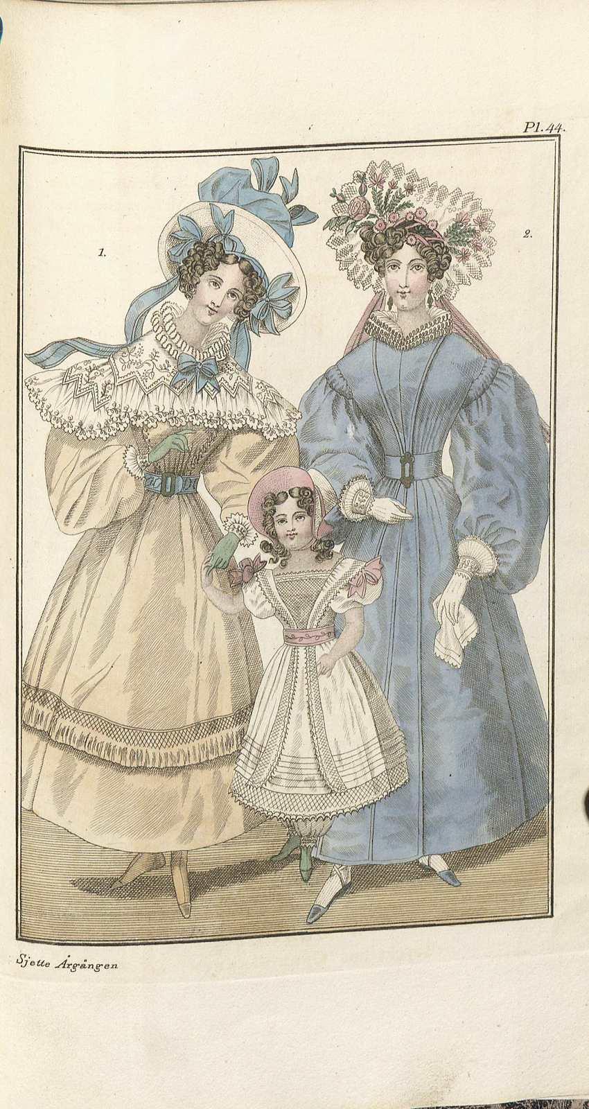 Magasin för konst, nyheter och moder 1829