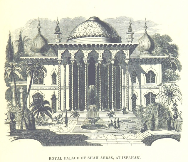 """Architecture from """"[Travels in Assyria, Media, and Persia, etc.]"""""""