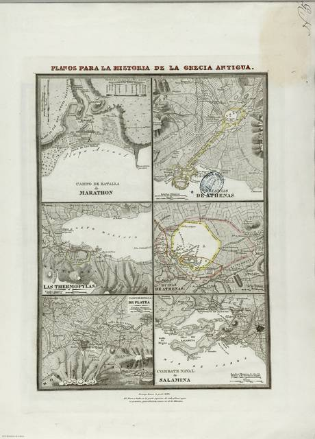 Combate Naval de Salamina : [mapa]