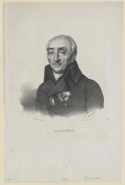 Lacépède, Bernard Graf
