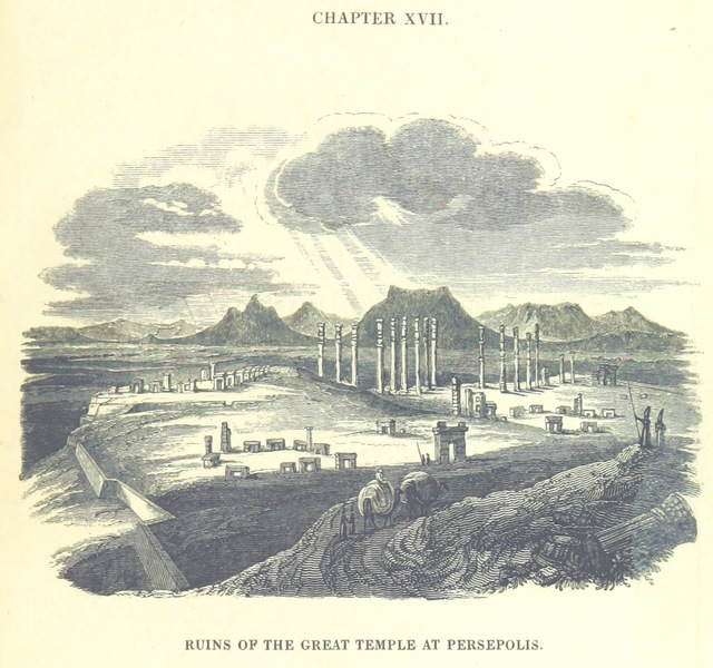 """Persepolis from """"[Travels in Assyria, Media, and Persia, etc.]"""""""