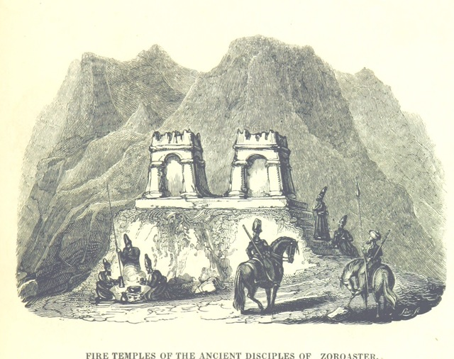 """Zoroastrian from """"[Travels in Assyria, Media, and Persia, etc.]"""""""