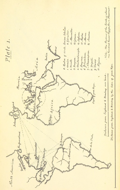 "map from ""The Colonies: treating of their value generally-of the Ionian Islands in particular ... Strictures on the administration of Sir F. Adam"""