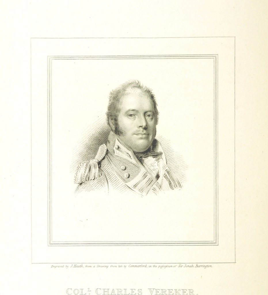 """portrait from """"[Historic Memoirs of Ireland; comprising secret records of the National Convention, the Rebellion, and the Union; with delineations of the principal characters connected with these translations, etc. [With portraits and facsimiles.]]"""""""