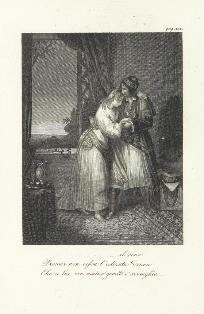 """People from """"Poemi di Giorgio Lord Byron, recati in italiano da Giuseppe Nicolini. [The Bride of Abydos, Parisina, The Corsair, Lara.] Con alcuni componimenti originali del traduttore"""""""