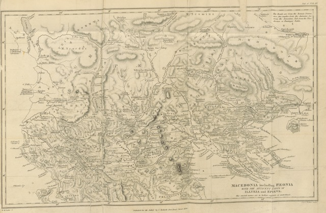 "map from ""Travels in Northern Greece"""