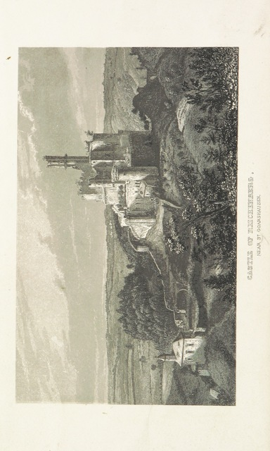 """Castle of Reichenberg from """"The Taunus, or Doings and Undoings, being a tour in search of the picturesque, romantic, fabulous and true"""""""