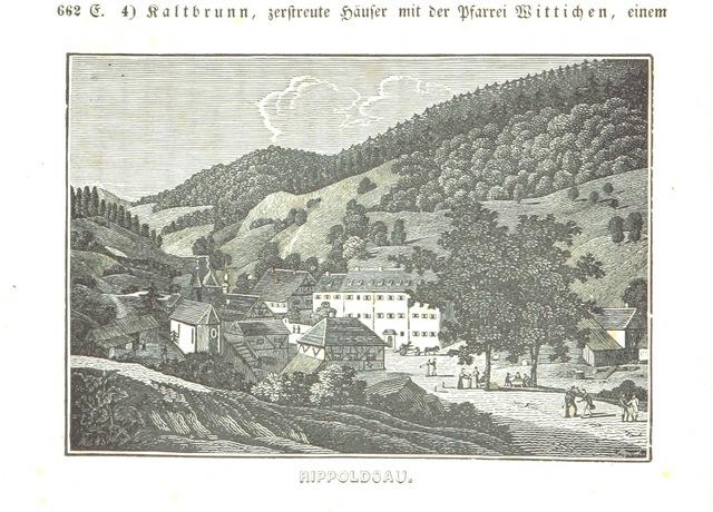 """Bad Rippoldsau-Schapbach from """"Baden geographisch und malerisch beschrieben. Mit ... Ansichten"""""""