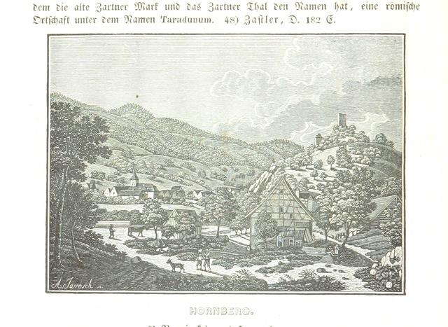 """Black Forest from """"Baden geographisch und malerisch beschrieben. Mit ... Ansichten"""""""