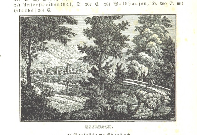 """bridge from """"Baden geographisch und malerisch beschrieben. Mit ... Ansichten"""""""