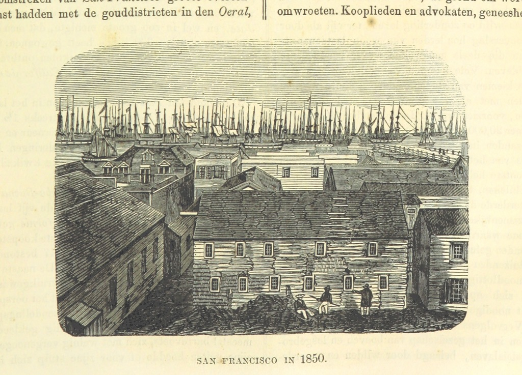 """1850 from """"De Aardbol. Magazijn van hedendaagsche land- en volkenkunde ... Met platen en kaarten. [Deel 4-9 by P. H. W.]"""""""