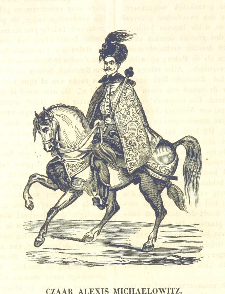 """Alexis I from """"De Aardbol. Magazijn van hedendaagsche land- en volkenkunde ... Met platen en kaarten. [Deel 4-9 by P. H. W.]"""""""
