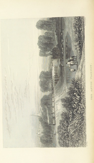 """Aston viaduct from """"The Book of The Grand Junction Railway, being a history and description of the line from Birmingham to Liverpool and Manchester ... By T. Roscoe, assisted by the resident engineers of the line"""""""