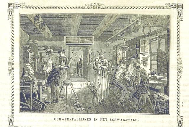 """Black Forest from """"De Aardbol. Magazijn van hedendaagsche land- en volkenkunde ... Met platen en kaarten. [Deel 4-9 by P. H. W.]"""""""