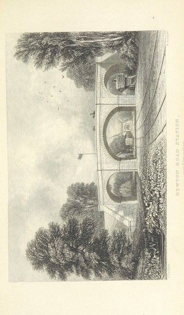 """bridge from """"The Book of The Grand Junction Railway, being a history and description of the line from Birmingham to Liverpool and Manchester ... By T. Roscoe, assisted by the resident engineers of the line"""""""
