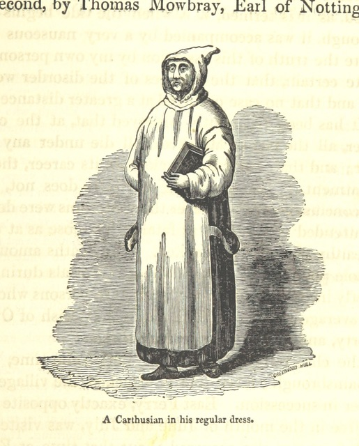 "Carthusian from ""The history and topography of the Isle of Axholme, being that part of Lincolnshire which is west of Trent"""