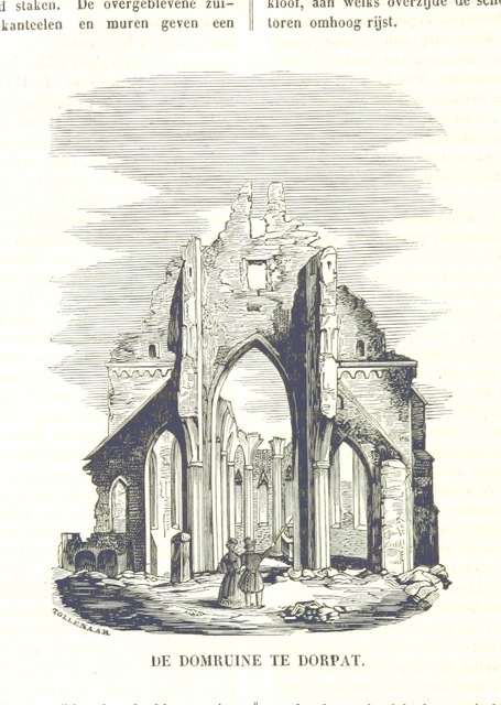 """cathedral from """"De Aardbol. Magazijn van hedendaagsche land- en volkenkunde ... Met platen en kaarten. [Deel 4-9 by P. H. W.]"""""""