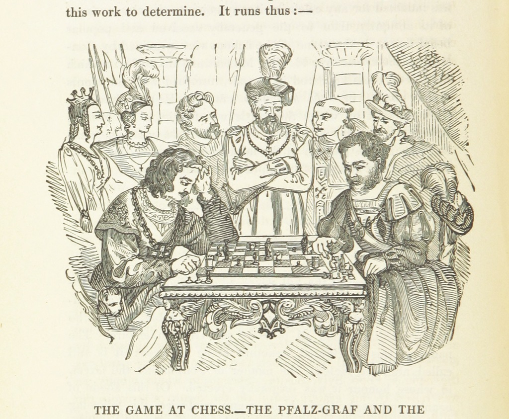 """chess from """"The Rhine: legends, traditions, history, from Cologne to Mainz"""""""