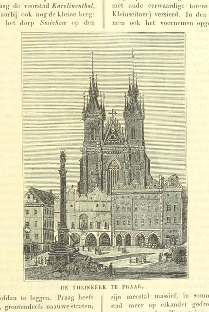 """Czech Republic from """"De Aardbol. Magazijn van hedendaagsche land- en volkenkunde ... Met platen en kaarten. [Deel 4-9 by P. H. W.]"""""""