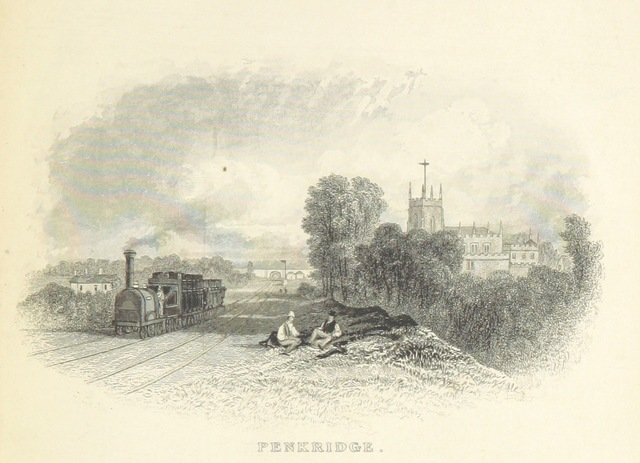 """England from """"The Book of The Grand Junction Railway, being a history and description of the line from Birmingham to Liverpool and Manchester ... By T. Roscoe, assisted by the resident engineers of the line"""""""