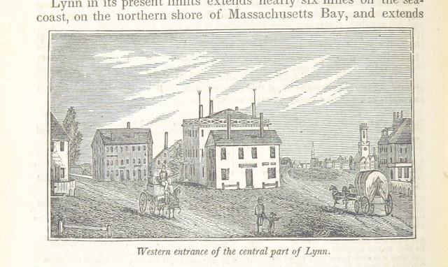 "Essex County from ""Historical Collections ... relating to the history and antiquities of every town in Massachusetts, with geographical descriptions. [With illustrations.]"""