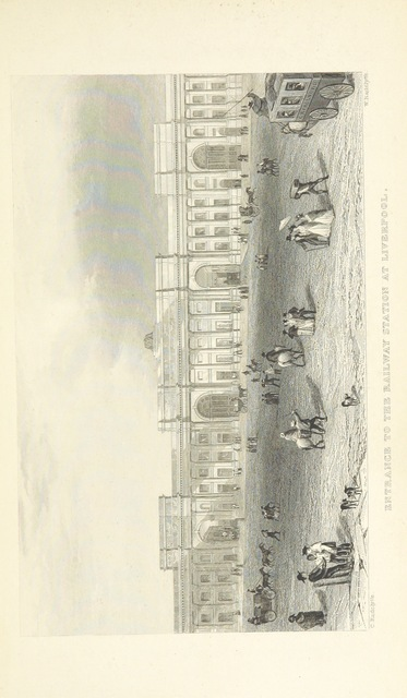 """Liverpool from """"The Book of The Grand Junction Railway, being a history and description of the line from Birmingham to Liverpool and Manchester ... By T. Roscoe, assisted by the resident engineers of the line"""""""