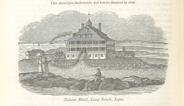 "Long Beach from ""Historical Collections ... relating to the history and antiquities of every town in Massachusetts, with geographical descriptions. [With illustrations.]"""