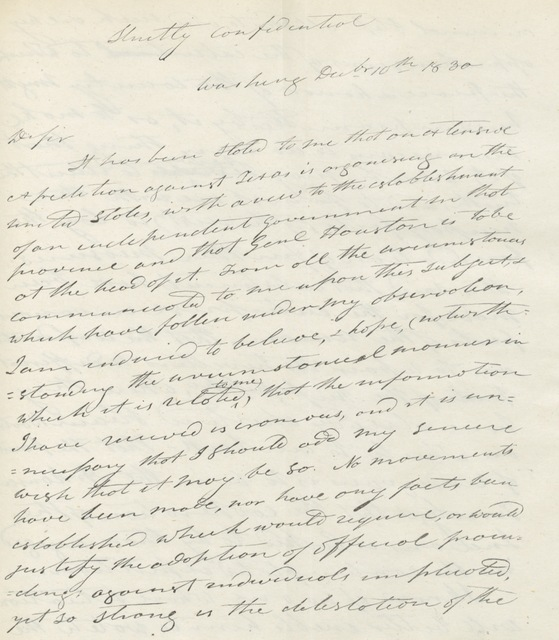 """manuscript from """"Political Sketches of eight years in Washington, ... with annotations. ... Also a general appendix ... and a series of charts, giving a comparative synopsis of the constitutions of the several States and the United States"""""""