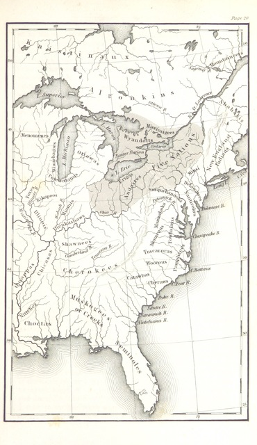 "map from ""History of the New Netherlands, Province of New York, and State of New York, to the adoption of the Federal Constitution"""