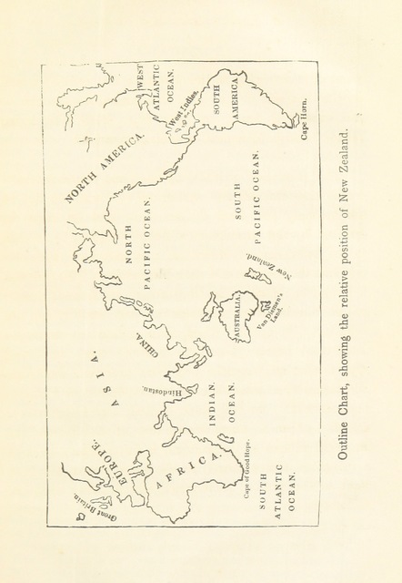 """Map from """"Information relative to New Zealand, for the use of Colonists. [With maps.]"""""""