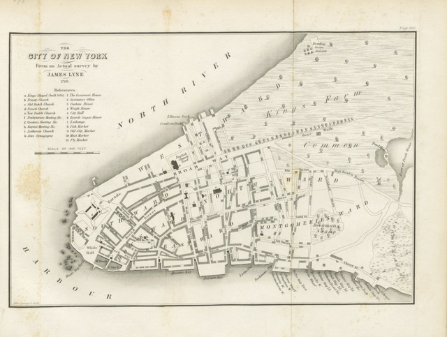 "New York City from ""History of the New Netherlands, Province of New York, and State of New York, to the adoption of the Federal Constitution"""