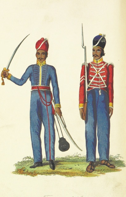 """people from """"Thirty Years in India: or, a Soldier's reminiscences of Native and European life in the Presidencies, from 1808 to 1838. [With plates.]"""""""