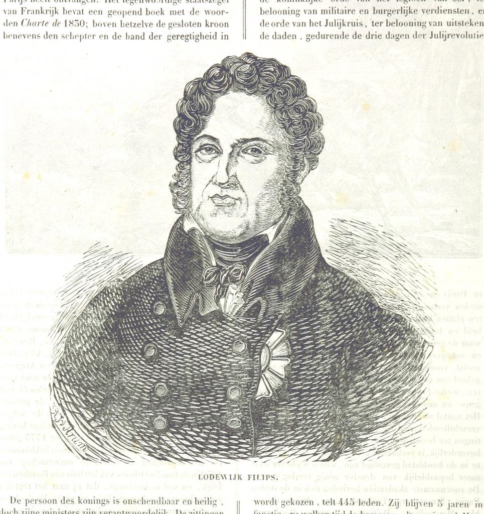 """portrait from """"De Aardbol. Magazijn van hedendaagsche land- en volkenkunde ... Met platen en kaarten. [Deel 4-9 by P. H. W.]"""""""