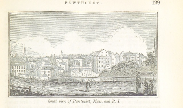 """Providence County from """"Historical Collections ... relating to the history and antiquities of every town in Massachusetts, with geographical descriptions. [With illustrations.]"""""""