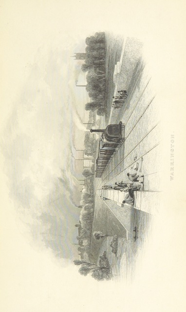 """railway from """"The Book of The Grand Junction Railway, being a history and description of the line from Birmingham to Liverpool and Manchester ... By T. Roscoe, assisted by the resident engineers of the line"""""""