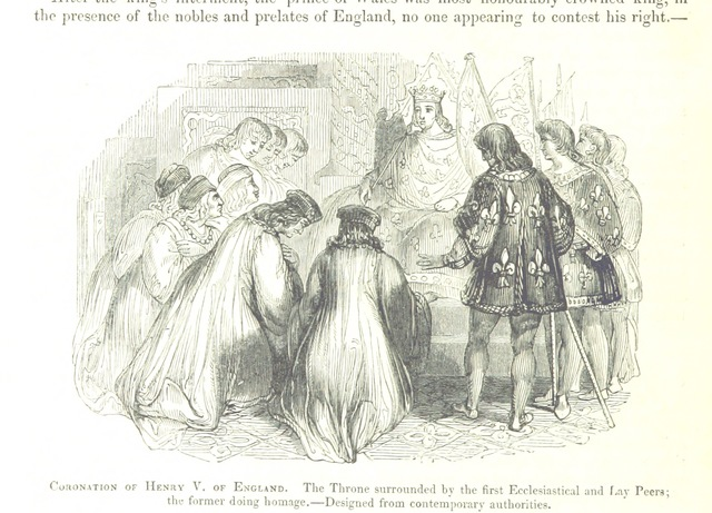 "coronation from ""[The Chronicles of E. de Monstrelet ... Translated by T. Johnes. [With plates.]]"""