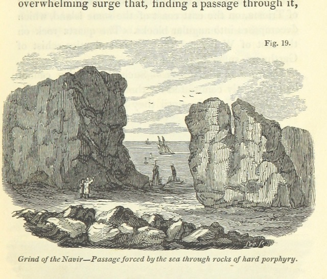 "igneous rock from ""[Principles of Geology, being an attempt to explain the former changes of the earth's surface, by reference to causes now in operation.]"""