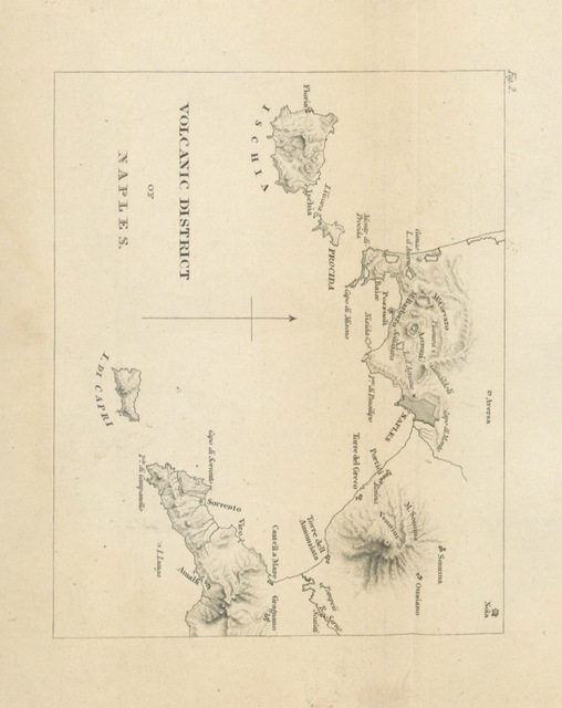"map from ""[Principles of Geology, being an attempt to explain the former changes of the earth's surface, by reference to causes now in operation.]"""