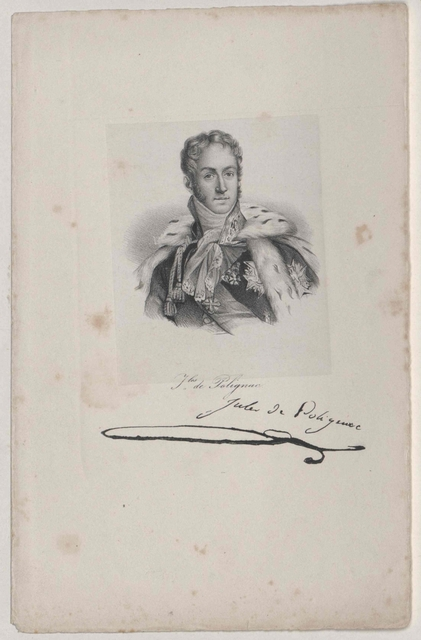 Polignac, Auguste Fürst