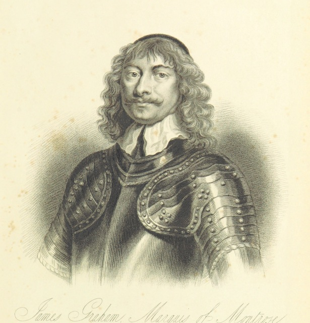 """portrait from """"[A History of the Highlands and of the Highland Clans ... Illustrated by a series of portraits and other engravings. [With a map.]]"""""""