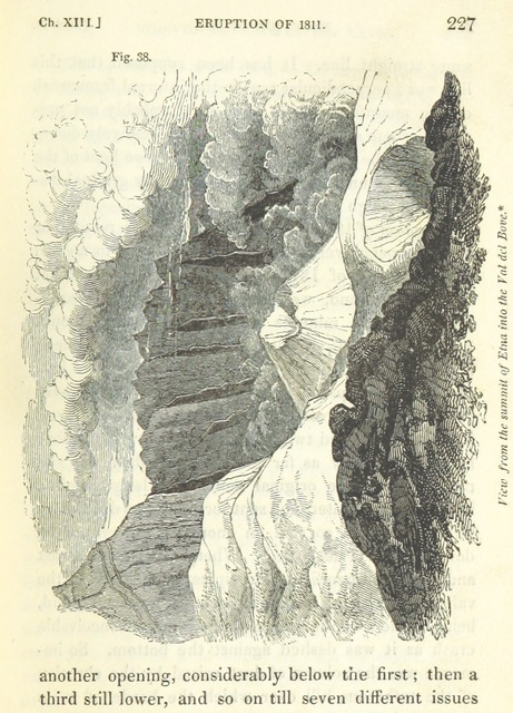 "Sicily from ""[Principles of Geology, being an attempt to explain the former changes of the earth's surface, by reference to causes now in operation.]"""