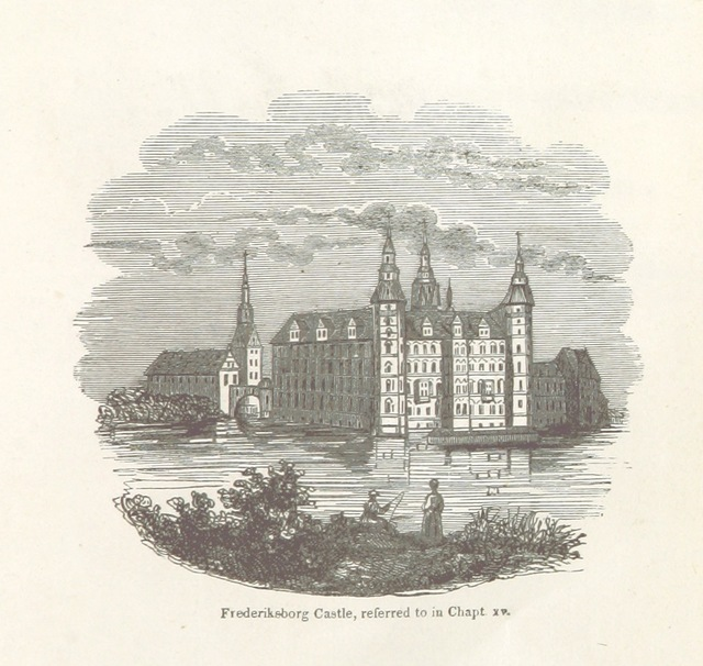 """Architecture from """"Visit to Northern Europe: or sketches descriptive, historical, political and moral, of Denmark, Norway, Sweden and Finland, and the free cities of Hamburg and Lubeck, etc"""""""