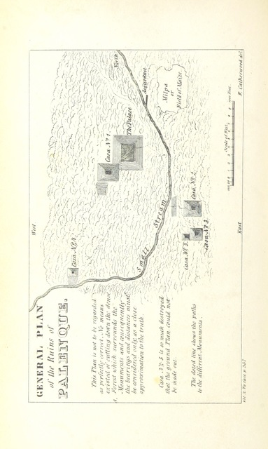 """map from """"Incidents of Travel in Central America, Chiapas, and Yucatan ... Illustrated by numerous engravings"""""""
