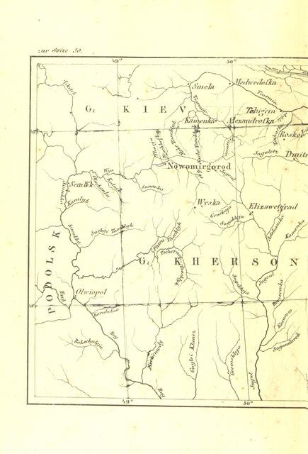 """map from """"Skythien und die Skythen des Herodot, und seine Ausleger, nebst Beschreibung des heutigen Zustandes jener Länder"""""""