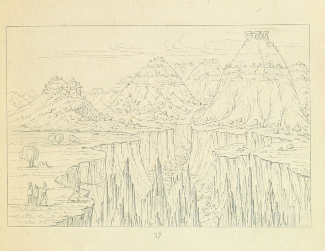 """Nature from """"Letters and Notes on the Manners, Customs, and Condition of the North American Indians. [With plates.]"""""""
