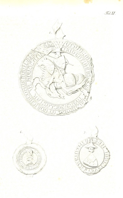 """circle from """"Die goldene Chronik von Hohenschwangau, der Burg der Welfen, der Hohenstauffen und der Scheyren. [With plates.]"""""""