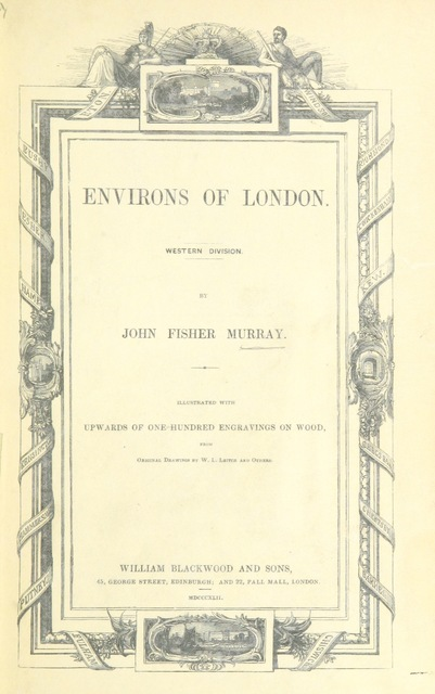"cover from ""Environs of London. Western Division"""